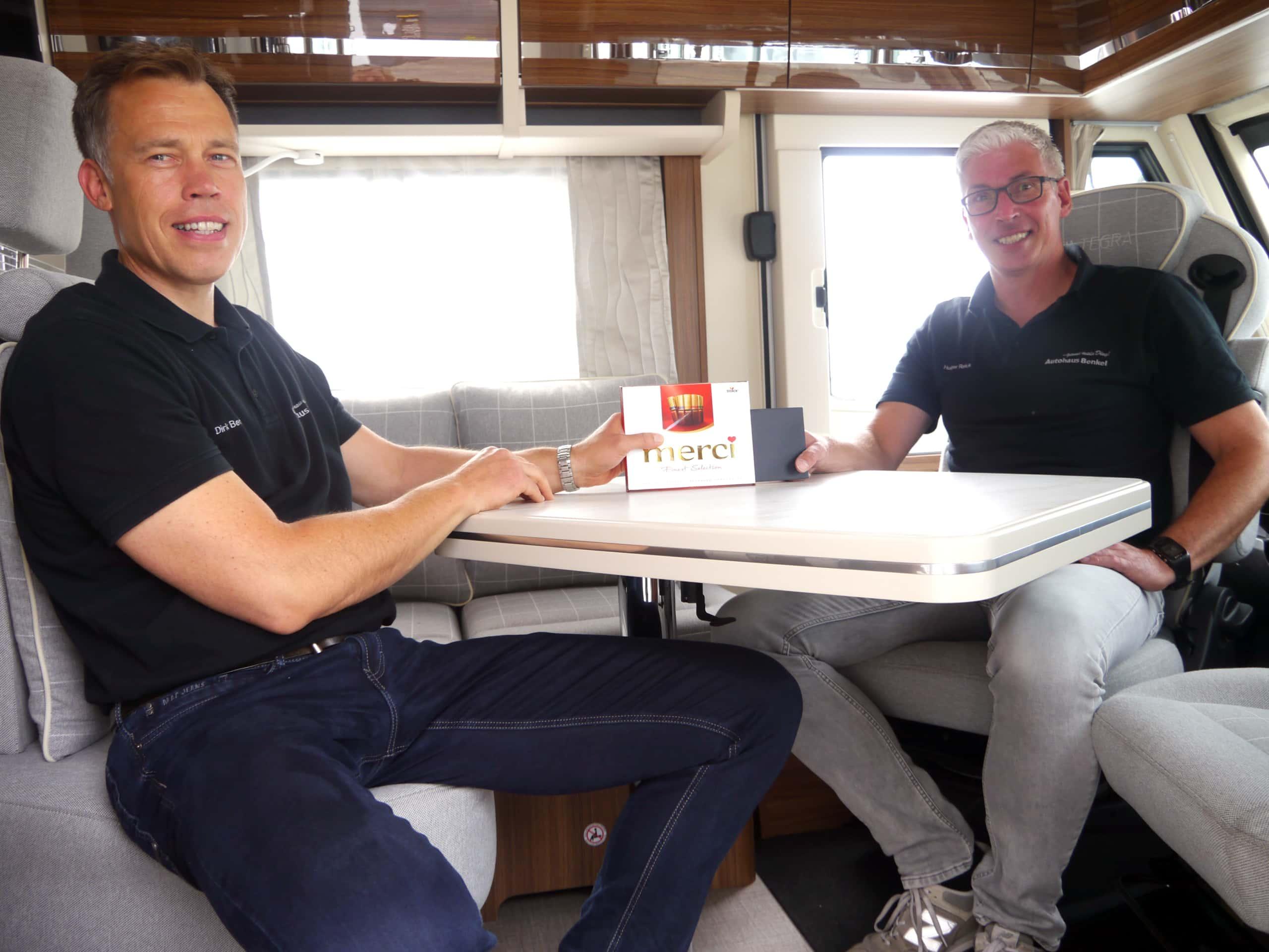 Dr. Dirk Benkel und Holger Reick
