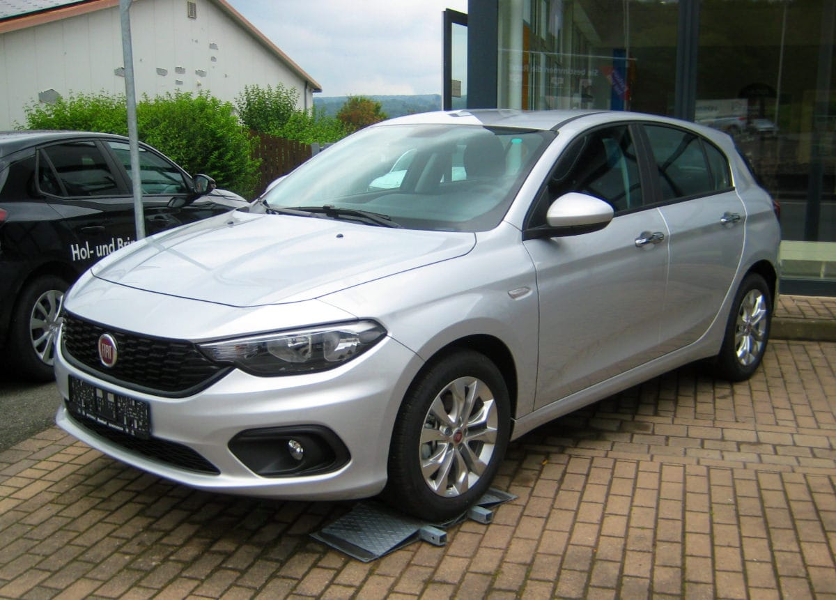 Fiat Tipo Silber