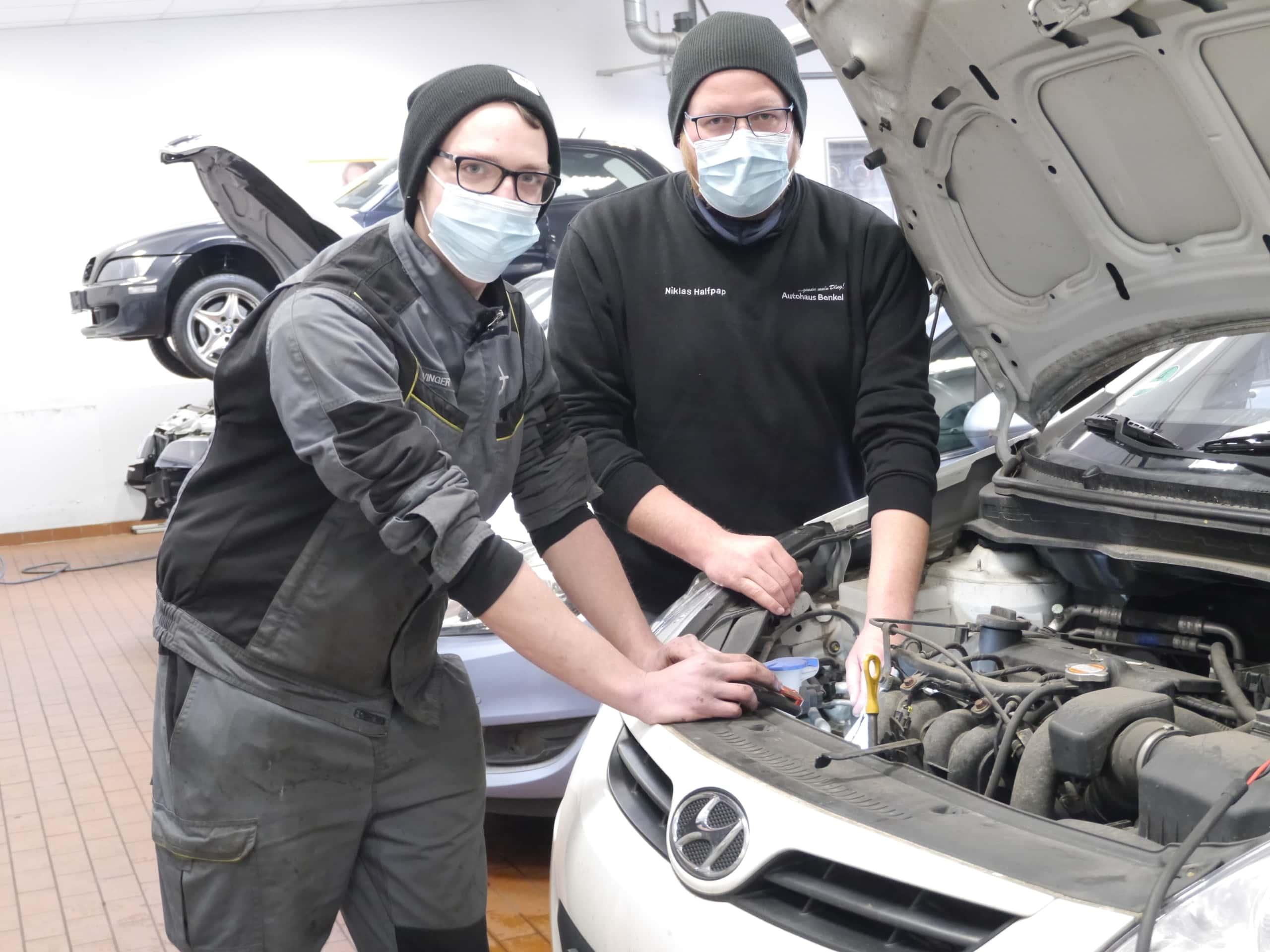 Ausbildung KFZ-Mechaniker Bewerbung