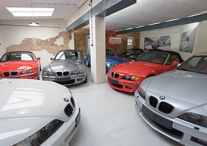 BMW Z3 Roadster Remise